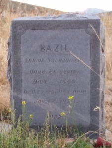 Bazil Adopted son of Sacajawea
